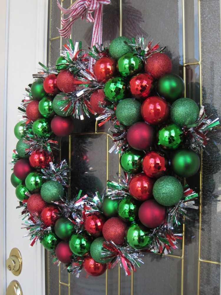 exteriores grises piedras lamparas puertas navidad