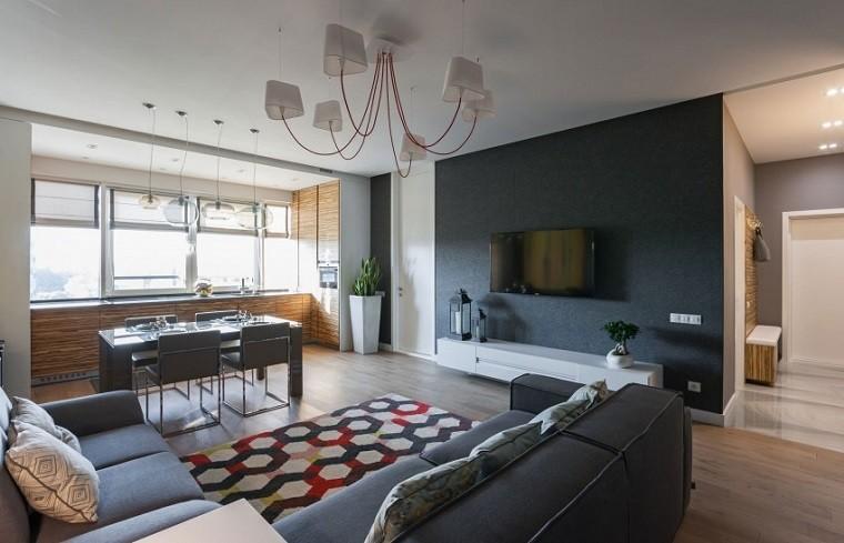 fieltro original paredes apartamento ideas
