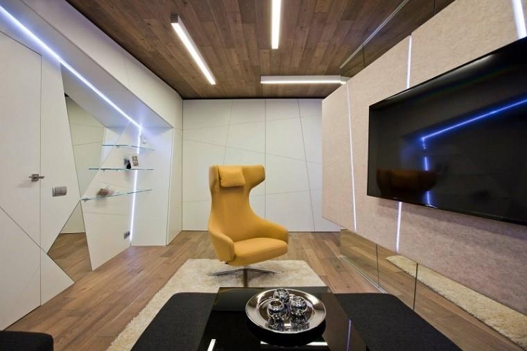 fieltro original paredes habitacion television ideas