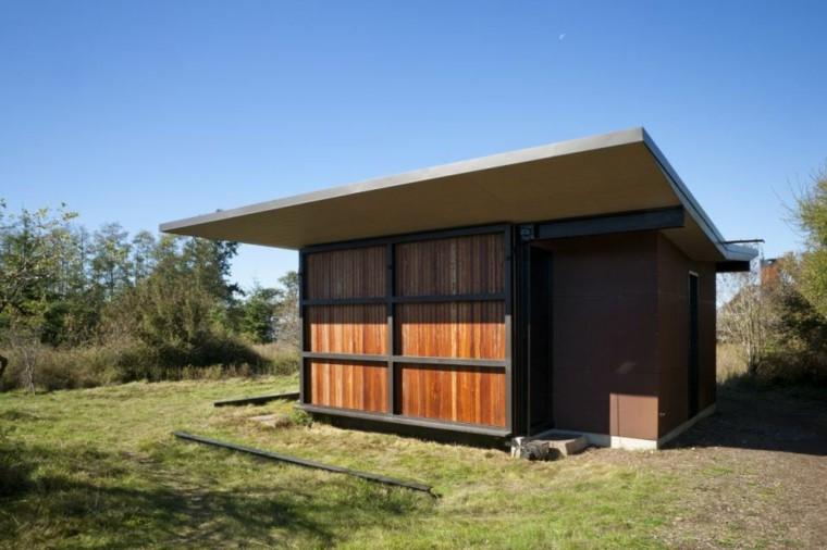 foto casa módulo cerrado