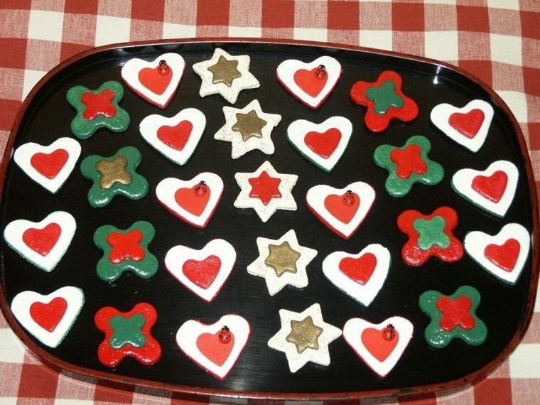 galletas colorido detalles ideas manteles