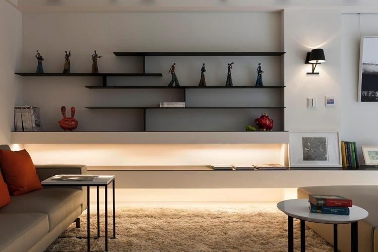 original salon estantes integrados