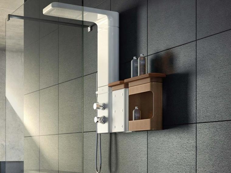 Estantes de acrilico para ba o - Estante para ducha ...