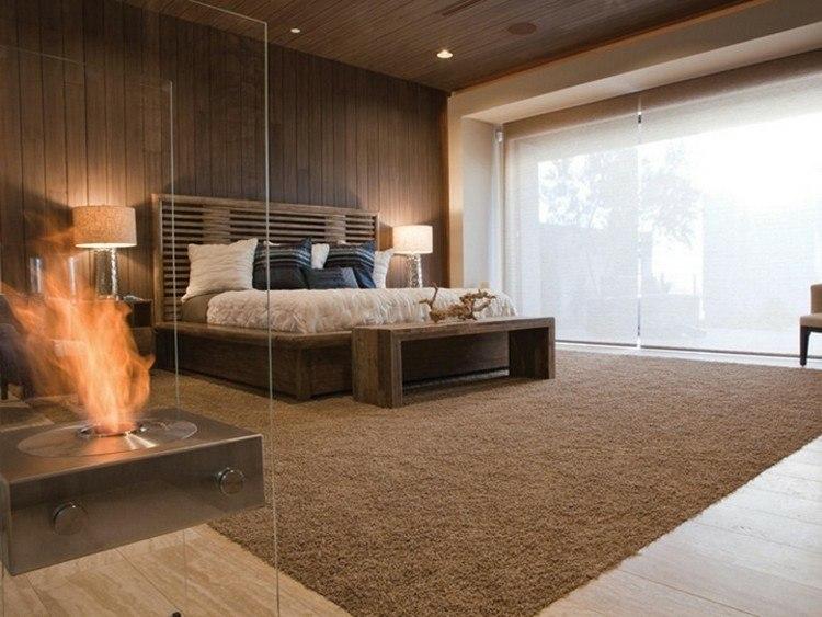 habitacion acrilico coleccion alfombra llama