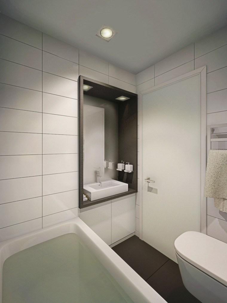 habitacion deseño estilo diferente blanco luces