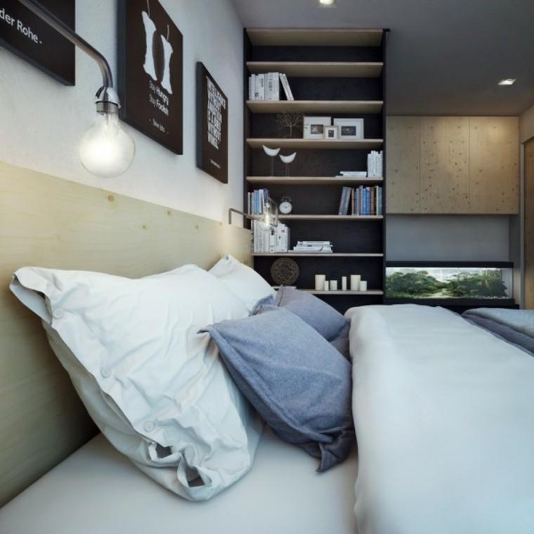 habitacion deseño estilo diferente madera