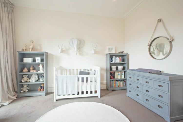 habitacion infantil diseño cortinas paredes