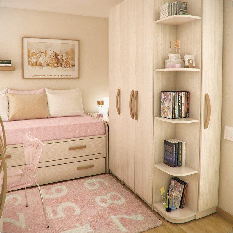 Habitaciones juveniles muebles para espacios pequeños -