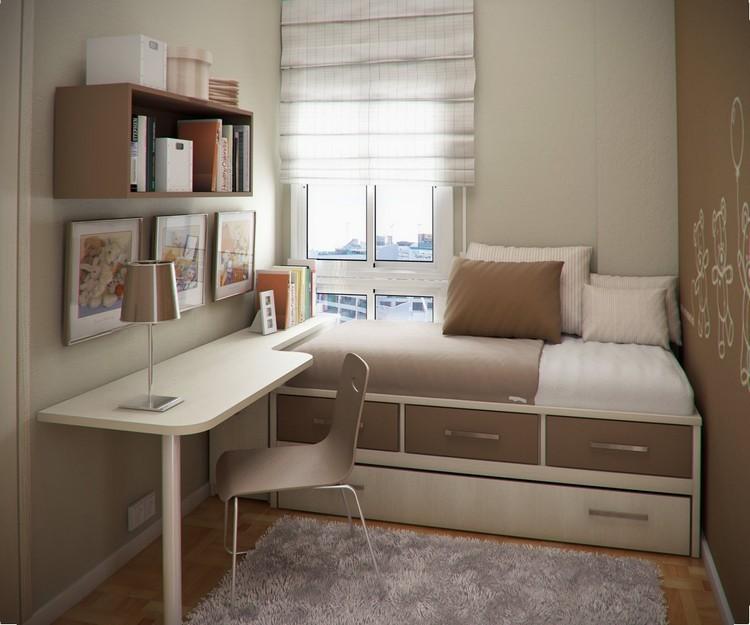 Habitaciones juveniles muebles para espacios peque os - Amueblar habitacion pequena ...