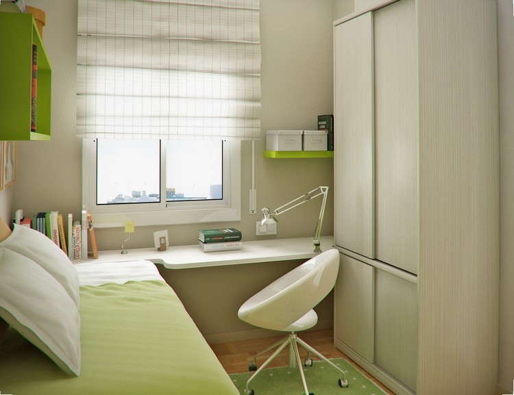 Habitaciones juveniles muebles para espacios peque os - Como decorar una habitacion pequena juvenil ...