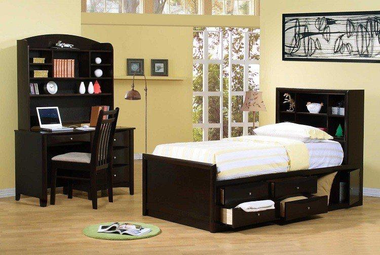 Habitaciones juveniles muebles para espacios peque os for Habitaciones juveniles funcionales