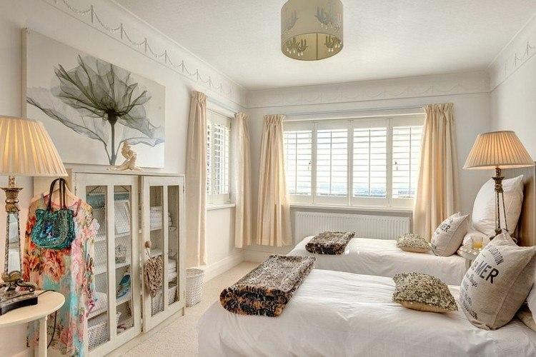 habitacion doble dos camas deco