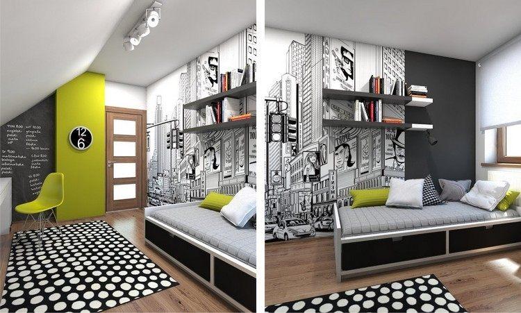Habitacion juvenil blanca - Habitaciones juveniles muebles rey ...