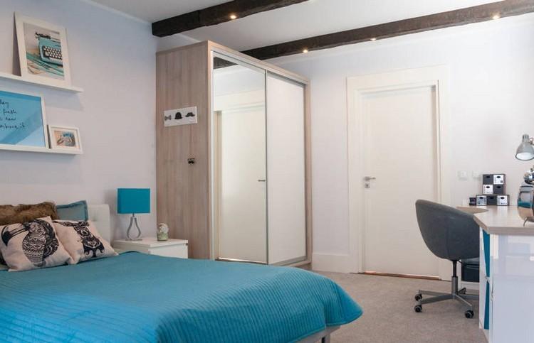 Habitaciones juveniles muebles para espacios peque os for Espejo grande habitacion