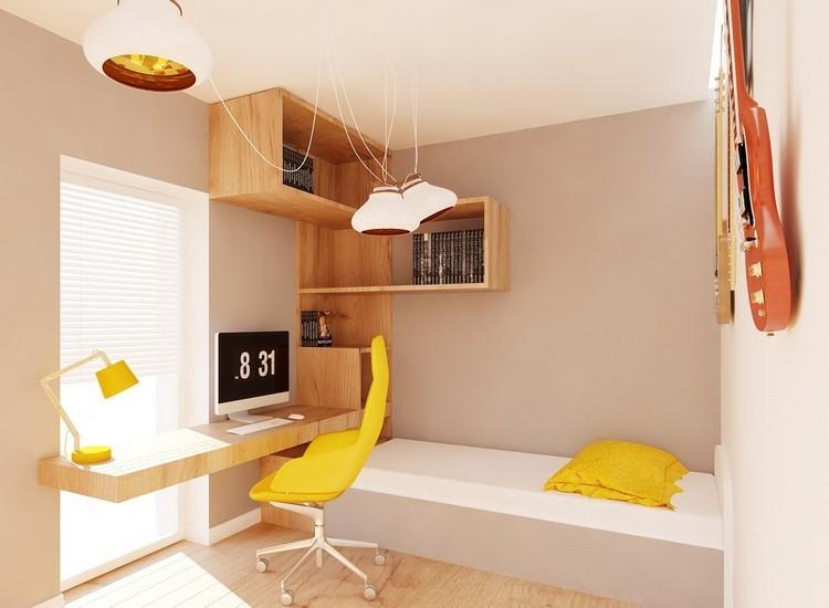 Habitaciones juveniles muebles para espacios peque os for Escritorio para recamara