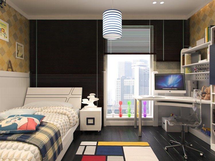 Habitaciones juveniles muebles para espacios peque os for Muebles infantiles para habitaciones pequenas