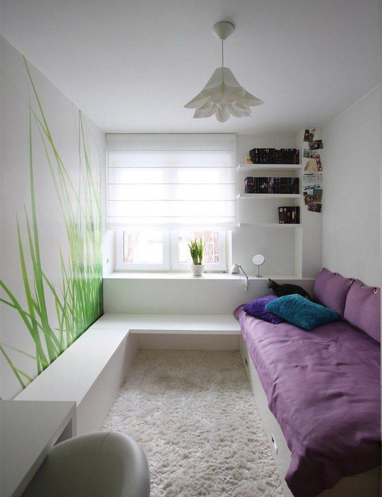 habitaciones muebles preciosos hijos estrecha blanca ideas