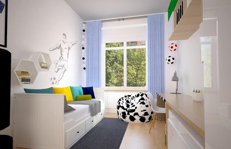 juveniles muebles preciosos hijo aficionado futbol ideas
