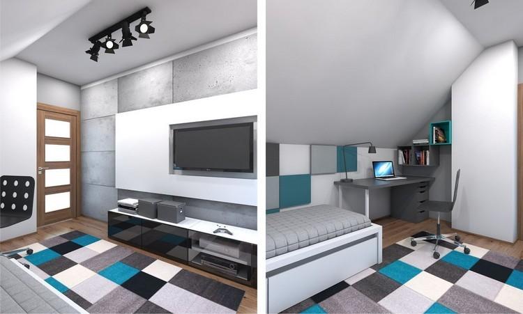Decoraciones modernas de cuartos juveniles – dabcre.com