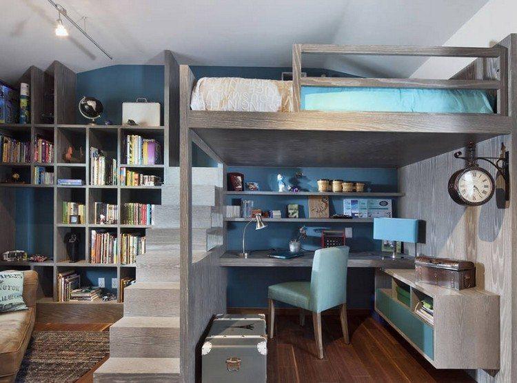 juveniles muebles para espacios pequeos