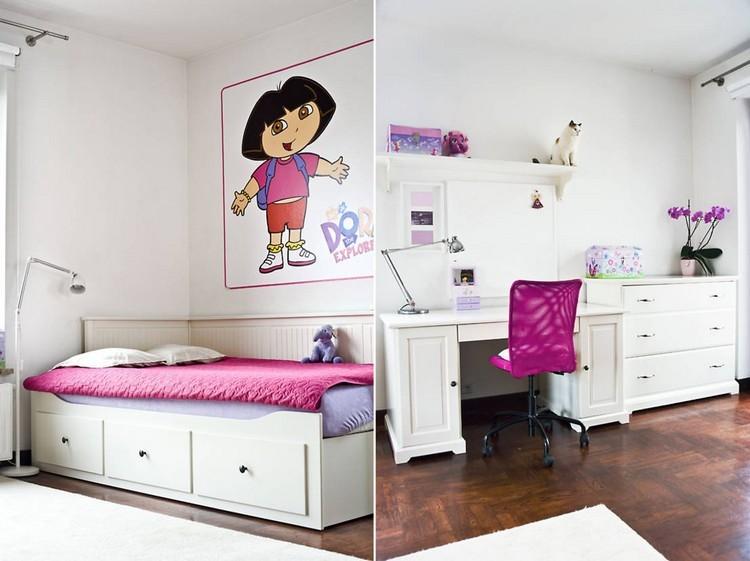 Habitaciones juveniles muebles para espacios peque os - Habitacion juvenil blanca ...
