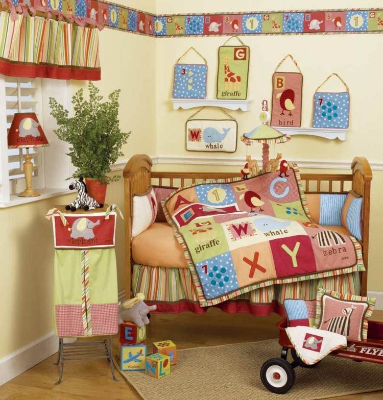 Habitaciones para bebes, decorando espacios funcionales.