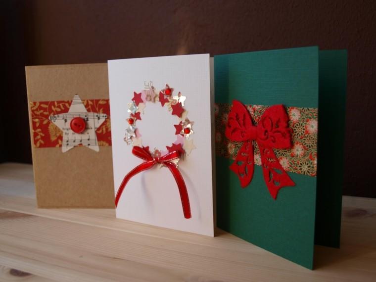 hacer tarjetas de navidad originales