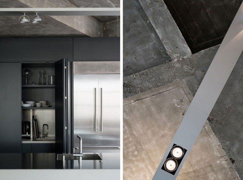Hormig n armado expuesto decorando la casa moderna for Techos de concreto para casas