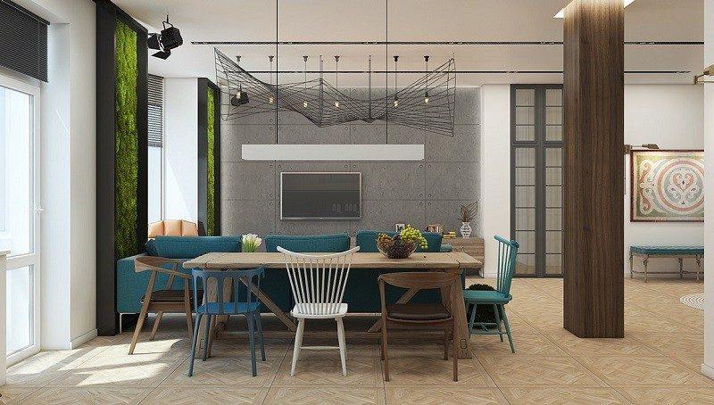 hormigon expuesto casa diseño moderno ideas