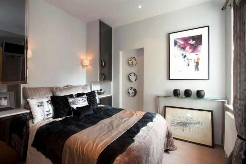 ideas decoración dormitorio cojines preciosos moderno