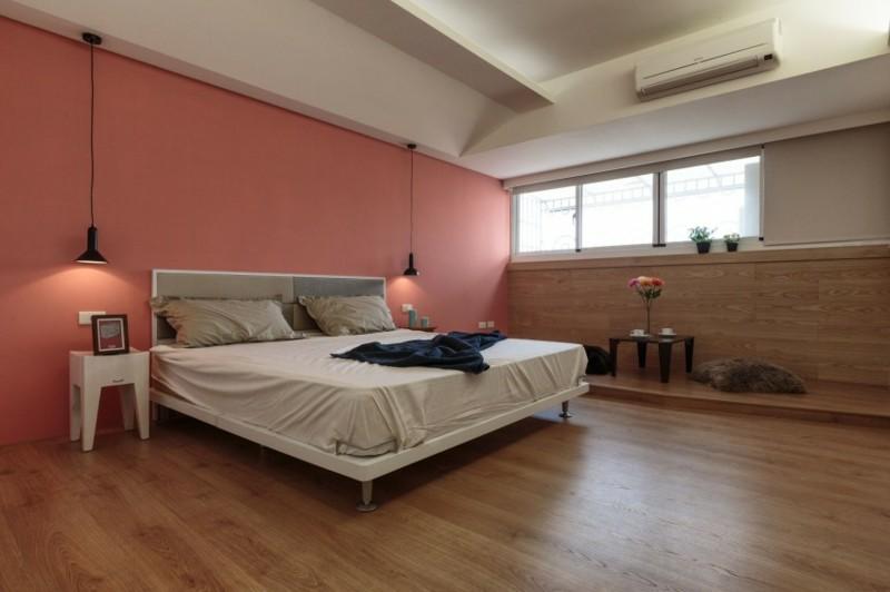 ideas decoración dormitorio mesita cojines moderno