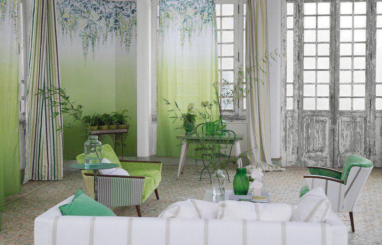 ideas decoracion- verde acentos plantas