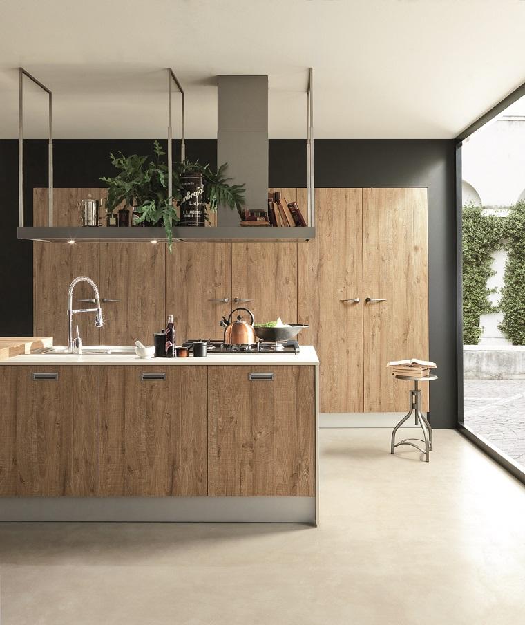imagenes-de-cocinas-diseno-industrial-madera