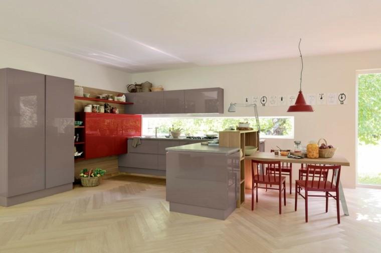 imágenes de cocinas diseno moderno color precioiso ideas
