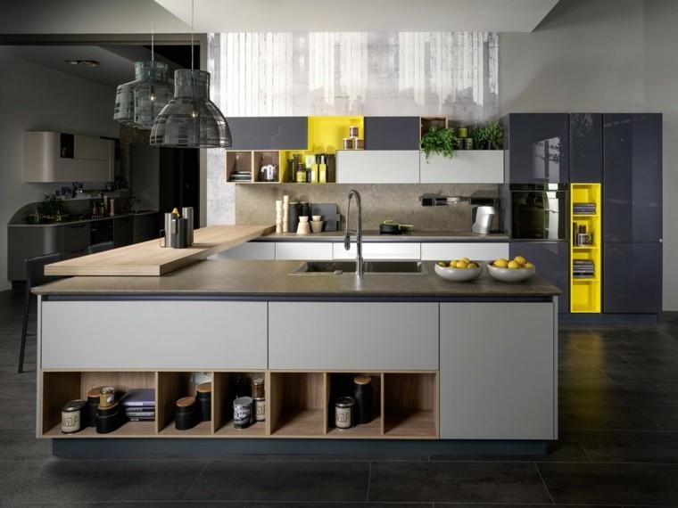 imagenes-de-cocinas-diseno-moderno-estantes-abiertos