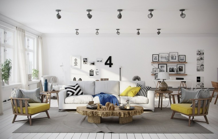 imagenes de salones decorados faroles lamparas