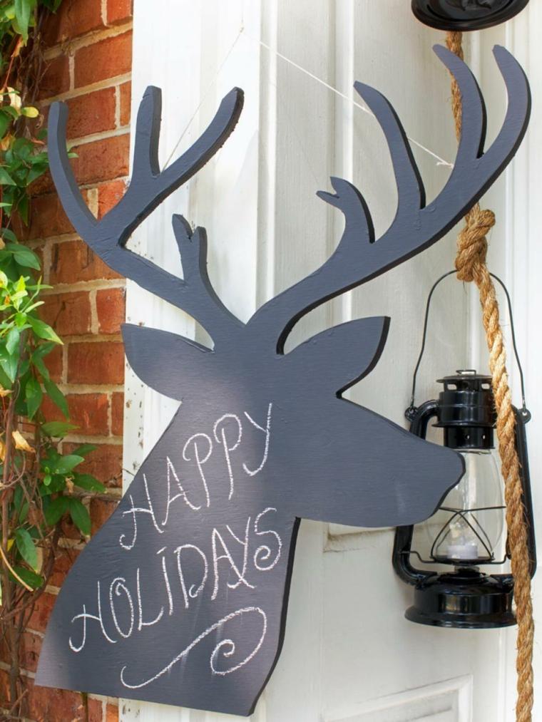 imagenes navideñas decoracion cabeza ladrillos