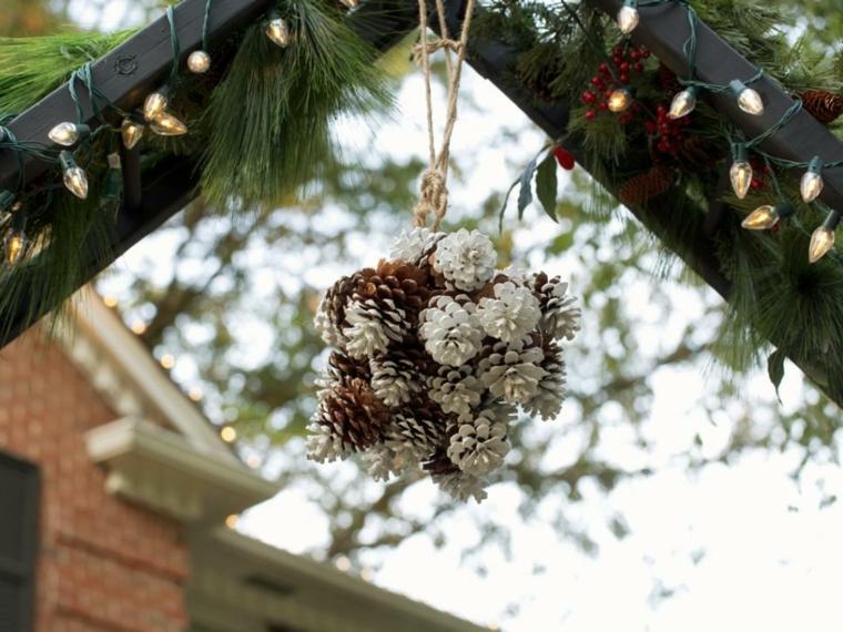 imagenes navideñas decoracion conos techo