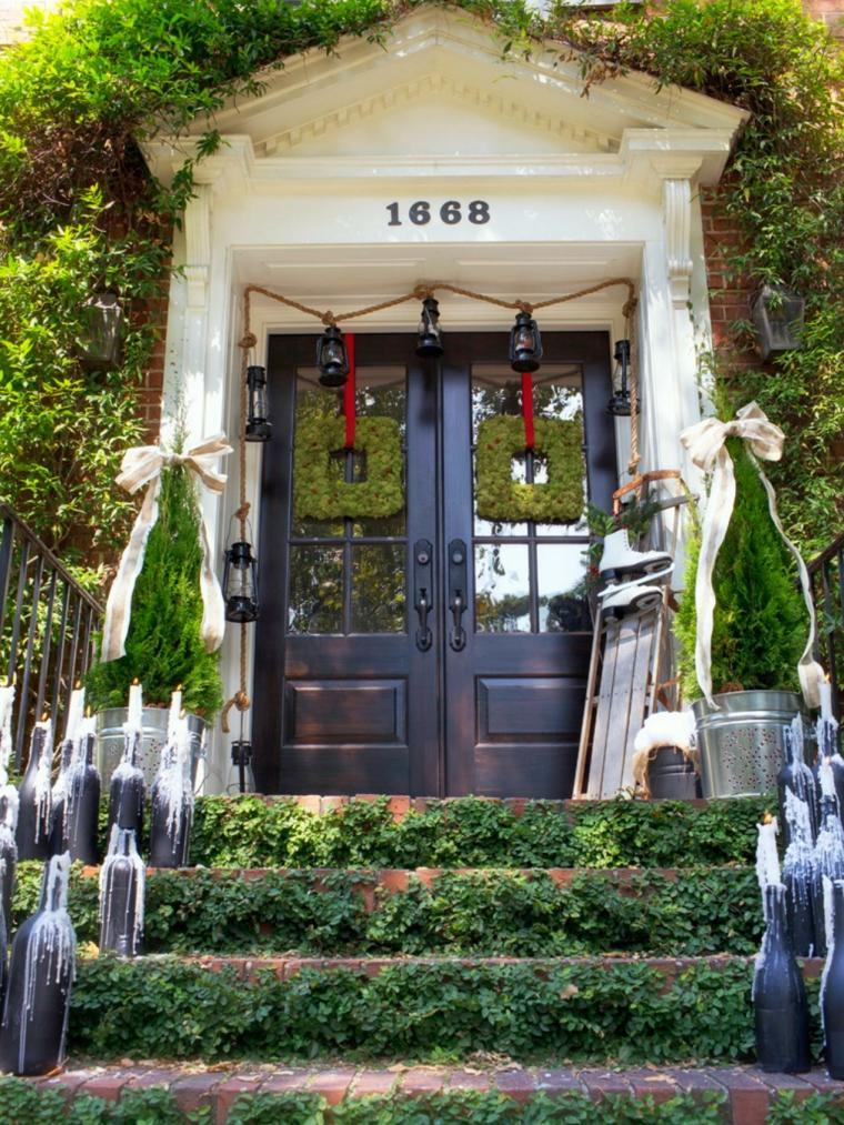 imagenes navideñas decoracion jardines numeros