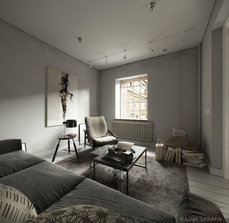 interior fresco ideas grises alfombras amplio