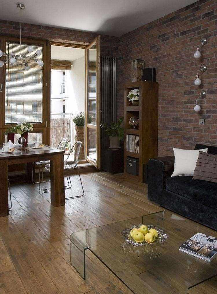 ladrillos diseño mueble bombillas mesa