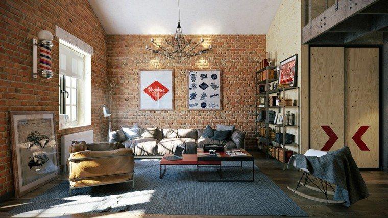 ladrillos paredes estilo casa tablas