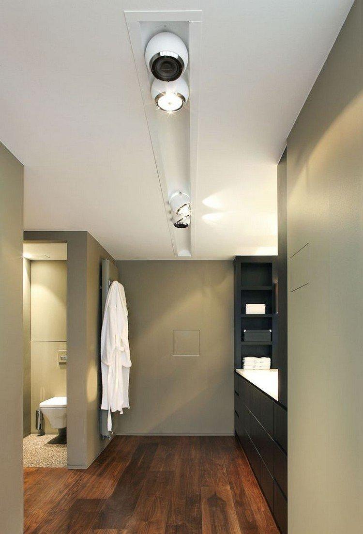 Lamparas de techo para cuartos de ba o 50 ideas - Focos para bano ...