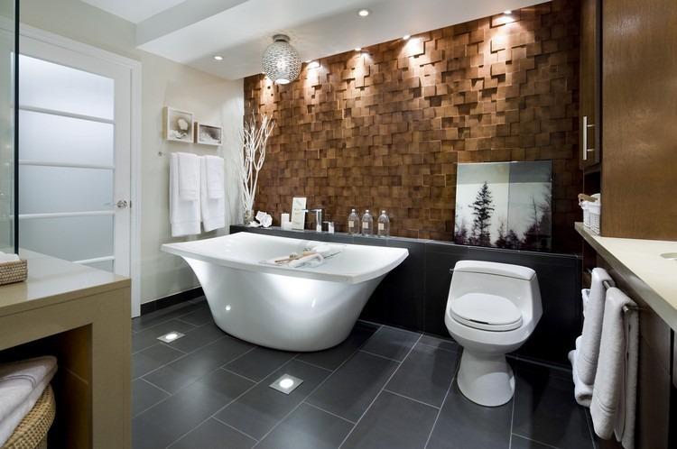 Lamparas Para Baños Modernos:Lamparas de techo para cuartos de baño – 50 ideas