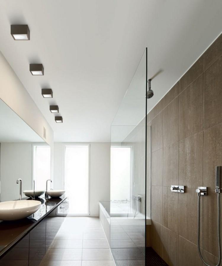 lamparas de techo cubos deco