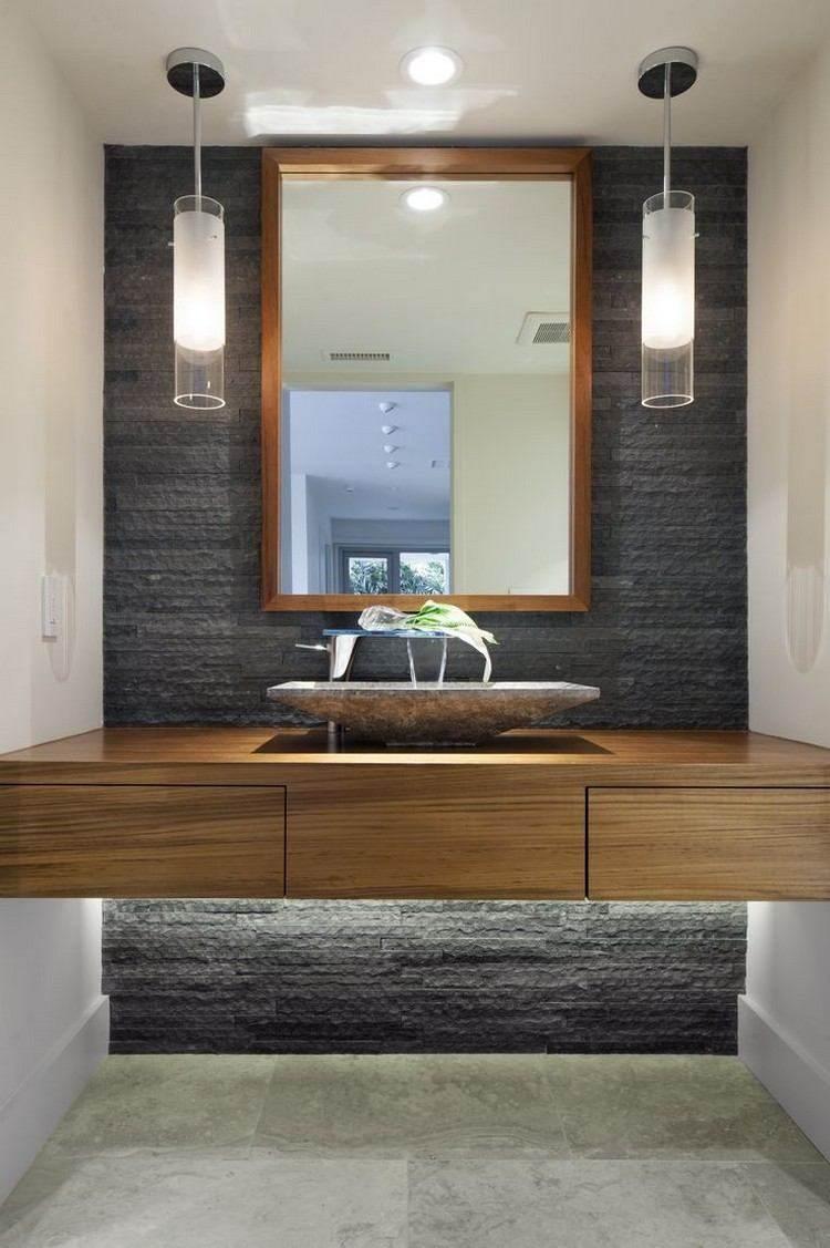 Lamparas Para Baños Minimalistas:Lamparas de techo para cuartos de baño – 50 ideas