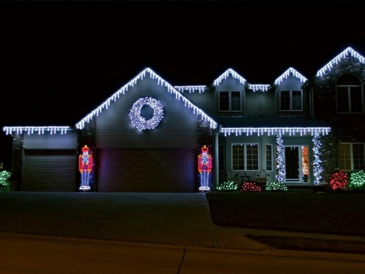 luces de navidad ideas jardines estilos soldados