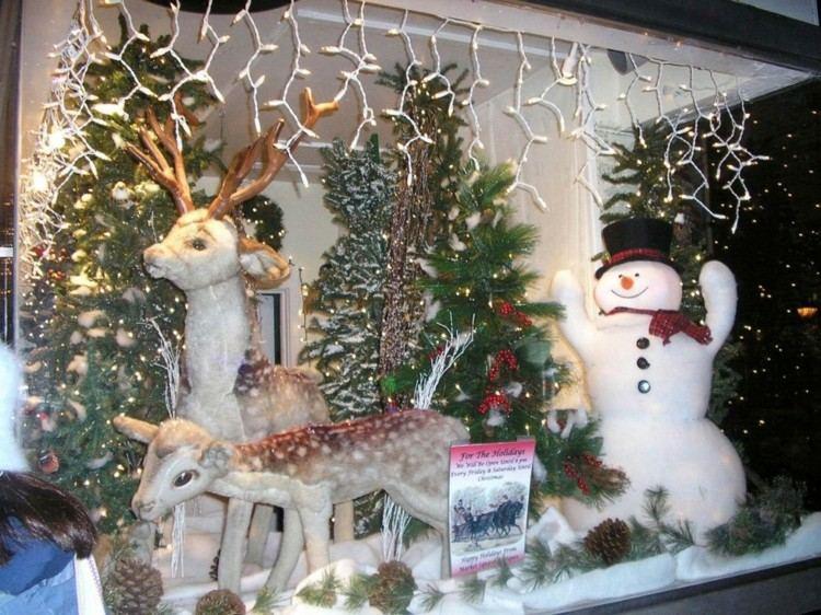 luces de navidad ideas jardines muñeco tradicional