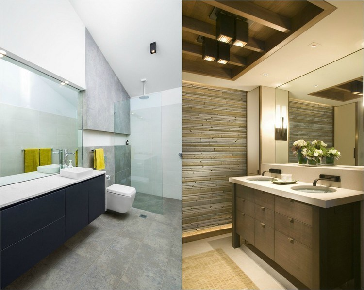 Lamparas Para El Baño De Techo:Lamparas de techo para cuartos de baño – 50 ideas