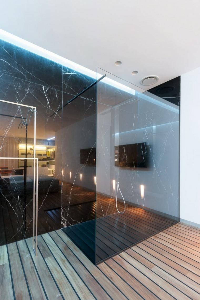 madera estilo casa marmol suelo luces